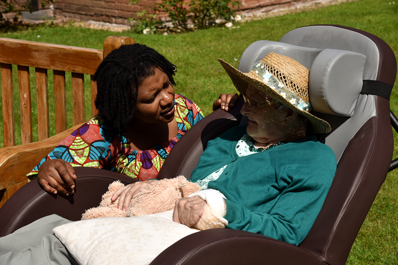 Hawksyard priory Care Home Staff Respite Care