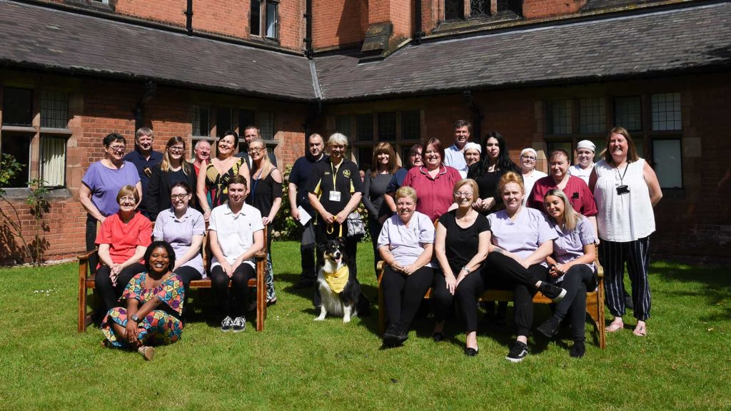 The Staff at Hawksyard Priory Care Home