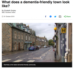 Dementia Friendly Towns and What They Look Like